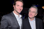 Actors Bradley Cooper (L) and Robert De Niro attend the 85th Academy Awards Nominations Luncheon at The Beverly Hilton Hotel on February 4, 2013 in Beverly Hills, California.