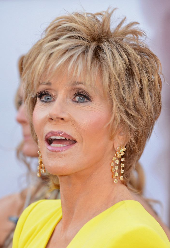 Jane Fonda in Red Carpet Arrivals at the Oscars - Zimbio