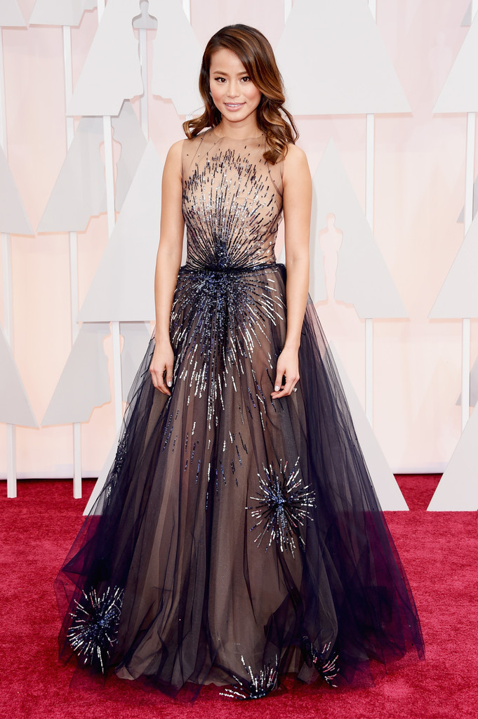 Actress Jamie Chung attends the 87th Annual Academy Awards at Hollywood & Highland Center on February 22, 2015 in Hollywood, California.