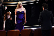 Actress Reese Witherspoon  in the audience during the 88th Annual Academy Awards at the Dolby Theatre on February 28, 2016 in Hollywood, California.