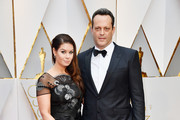 Kyla Weber (L) and actor Vince Vaughn attend the 89th Annual Academy Awards at Hollywood & Highland Center on February 26, 2017 in Hollywood, California.