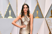 TV personality Louise Roe attends the 89th Annual Academy Awards at Hollywood & Highland Center on February 26, 2017 in Hollywood, California.