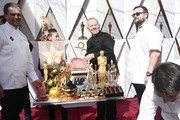 Wolfgang Puck (C) attends the 90th Annual Academy Awards at Hollywood & Highland Center on March 4, 2018 in Hollywood, California.