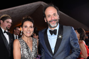 Luca Guadagnino (R) attends the 90th Annual Academy Awards Governors Ball at Hollywood & Highland Center on March 4, 2018 in Hollywood, California.