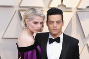 Lucy Boynton and  Rami Malek attend the 91st Annual Academy Awards at Hollywood and Highland on February 24, 2019 in Hollywood, California.