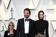 (L-R) Gloria Campano, Bradley Cooper and Irina Shayk attends the 91st Annual Academy Awards at Hollywood and Highland on February 24, 2019 in Hollywood, California.