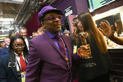 In this handout provided by A.M.P.A.S., Best Adapted Screenplay winner from BlacKkKlansman Spike Lee poses backstage during the 91st Annual Academy Awards at the Dolby Theatre on February 24, 2019 in Hollywood, California.