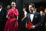 In this handout provided by A.M.P.A.S., Presenters Sarah Paulson and Paul Rudd walk off stage during the 91st Annual Academy Awards at the Dolby Theatre on February 24, 2019 in Hollywood, California.