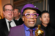 (L-R) Spike Lee, winner of Adapted Screenplay for ''BlacKkKlansman,' attends the 91st Annual Academy Awards Governors Ball at Hollywood and Highland on February 24, 2019 in Hollywood, California.