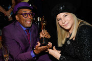 (L-R) Spike Lee, winner of Adapted Screenplay for ''BlacKkKlansman,' and Barbra Streisand attend the 91st Annual Academy Awards Governors Ball at Hollywood and Highland on February 24, 2019 in Hollywood, California.