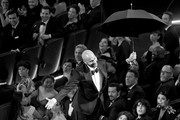 Retransmission with alternate crop.) Keegan-Michael Key is lowered to the floor during the 91st Annual Academy Awards at Dolby Theatre on February 24, 2019 in Hollywood, California.