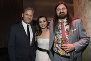(L-R) Viggo Mortensen, Linda Cardellini, and Henry Mortensen attend the 91st Oscars Nominees Luncheon at The Beverly Hilton Hotel on February 04, 2019 in Beverly Hills, California.