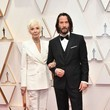 Keanu Reeves and Patricia Taylor