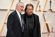 (L-R) Robert De Niro and Al Pacino attend the 92nd Annual Academy Awards at Hollywood and Highland on February 09, 2020 in Hollywood, California.
