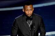 Mahershala Ali speaks onstage during the 92nd Annual Academy Awards at Dolby Theatre on February 09, 2020 in Hollywood, California.