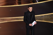 Rami Malek speaks.onstage during the 92nd Annual Academy Awards at Dolby Theatre on February 09, 2020 in Hollywood, California.