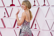 LOS ANGELES, CALIFORNIA – APRIL 25: Margot Robbie attends the 93rd Annual Academy Awards at Union Station on April 25, 2021 in Los Angeles, California.