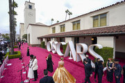 LOS ANGELES, CALIFORNIA – APRIL 25: Viola Davis and Julius Tennon (left) attend the 93rd Annual Academy Awards at Union Station on April 25, 2021 in Los Angeles, California.