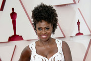 LOS ANGELES, CALIFORNIA – APRIL 25: (EDITORIAL USE ONLY) In this handout photo provided by A.M.P.A.S., Viola Davis attends the 93rd Annual Academy Awards at Union Station on April 25, 2021 in Los Angeles, California.