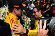 Helio Castroneves and Ryan Hunter-Reay Photos Photo