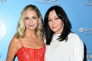 Sarah Michelle Gellar and Shannen Doherty attend the 9th Annual American Humane Hero Dog Awards at The Beverly Hilton Hotel on October 05, 2019 in Beverly Hills, California.