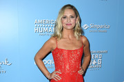 Sarah Michelle Gellar attends the 9th Annual American Humane Hero Dog Awards at The Beverly Hilton Hotel on October 05, 2019 in Beverly Hills, California.