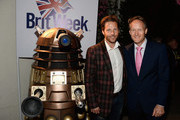 Actor Jamie Bamber (L) and British Consul General in Los Angeles Chris O'Connor attend the 9th Annual BritWeek launch party at the British Consul General's Residence on April 21, 2015 in Los Angeles, California.