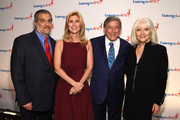 Joe Germanotta, ETA Co-Founder & Board President Susan Benedetto, Tony Bennett and Cynthia Germanotta attend the 9th Annual Exploring The Arts Gala at Cipriani 42nd Street on September 28, 2015 in New York City.