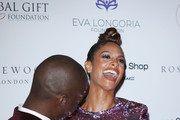 Azuka Ononye and Alesha Dixon attends The 9th Annual Global Gift Gala held at The Rosewood Hotel on November 02, 2018 in London, England.