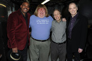 Actor Allan Harris, comedian Bruce Vilanch, producer Scott Siegel and actor Charles Busch attend the 9th annual Nightlife Awards at Town Hall on January 31, 2011 in New York City.