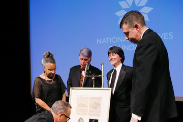 A'Lelia Bundles National Archives Foundation Honor Tom Hanks at Records of Achievement Award Gala