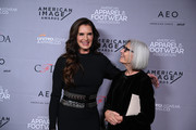 Brooke Shields and Eileen Fisher attend the AAFA American Image Awards 2019 at The Plaza on April 15, 2019 in New York City.