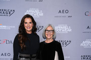 Brooke Shields and designer Eileen Fisher attend the AAFA American Image Awards 2019 at The Plaza on April 15, 2019 in New York City.