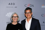 (L-R)  Designer Eileen Fisher and Designer Peter Som attend the AAFA American Image Awards 2019 at The Plaza on April 15, 2019 in New York City.