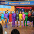 """Lindsay Arnold Jenna Johnson Photos - GOOD MORNING AMERICA - The stars of Dancing with the Stars: Live!  We Came to Dance perform on """"Good Morning America,"""" Tuesday, January 17, 2017 on the ABC Television Network..(Photo by Paula Lobo/ABC via Getty Images).GEORGE STEPHANOPOULOS, AMY ROBACH, JENNA JOHNSON, GLEB SAVCHENKO, GINGER ZEE, VAL CHMERKOVSKIY, ROBIN ROBERTS, SHARNA BURGESS, LINDSAY ARNOLD, KEO MOTSEPE, LARA SPENCER, MICHAEL STRAHAN - ABC's """"Good Morning America"""" - 2017"""