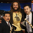 Jason Momoa and Guillermo Rodriguez