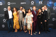 (L-R) Ed O'Neill, Sofia Vergara, Ty Burrell, Julie Bowen, Sarah Hyland, Jesse Tyler Fergussion, Ariel Winter, Nolan Gould and Eric Stonestreet attend the ABC Walt Disney Television Upfront on May 14, 2019 in New York City.