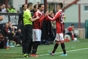 Giampaolo Pazzini and Stephan El Shaarawy Photos Photo