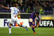 Giuseppe Rossi of ACF Fiorentina in action during the UEFA Europa League match between ACF Fiorentina and Os Belenenses on December 10, 2015 in Florence, Italy.