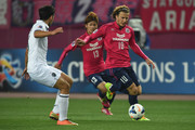 Diego Forlan #10 of Cerezo Osaka in action during the AFC Champions League match between Cerezo Osaka and Buriram United at Nagai Stadium on March 18, 2014 in Osaka, Japan.