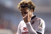 Diego Forlan of Cerezo Osaka reacts after the AFC Champions League match between Pohang Steelers and Cerezo Osaka at Pohang Steelyard on February 25, 2014 in Pohang, South Korea.
