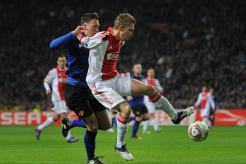 Dico Koppers AFC Ajax v Manchester United FC - UEFA Europa League Round of 32