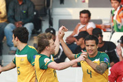 Tim Cahill Brett Holman Photos Photo