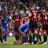 Steve Cook Photos - Steve Cook of AFC Bournemouth goes down injured with a head injury during the Premier League match between AFC Bournemouth and Cardiff City at Vitality Stadium on August 11, 2018 in Bournemouth, United Kingdom. - AFC Bournemouth vs. Cardiff City - Premier League