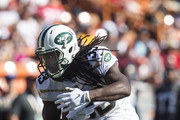 Team Rice running back Chris Ivory #33 of the New York Jets carries the ball against Team Irvin during the first half of the 2016 Pro Bowl at Aloha Stadium on January 31, 2016 in Honolulu, Hawaii.