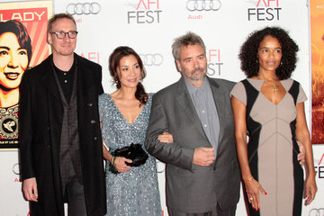 """Michelle Yeoh Luc Besson AFI FEST 2011 Presented By Audi - """"The Lady"""" Centerpiece Gala - Arrivals"""