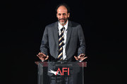 """Luca Guadagnino is seen onstage at the screening of """"Call Me By Your Name"""" at AFI FEST 2017 Presented By Audi at TCL Chinese Theatre on November 10, 2017 in Hollywood, California."""