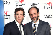"""Peter Spears and Luca Guadagnino attends the screening of """"Call Me By Your Name"""" at AFI FEST 2017 Presented By Audi at TCL Chinese Theatre on November 10, 2017 in Hollywood, California."""
