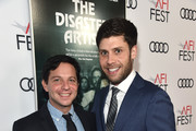 """Michael Weber (R) and Scott Neustadter attend the screening of """"The Disaster Artist"""" at AFI FEST 2017 Presented By Audi at TCL Chinese Theatre on November 12, 2017 in Hollywood, California."""