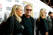 "Actor Peter Fonda (R) and Margaret DeVogelaere attend AFI Fest's Los Angeles premiere of ""The Ballad of Lefty Brown"" on November 14, 2017 in Los Angeles, California."